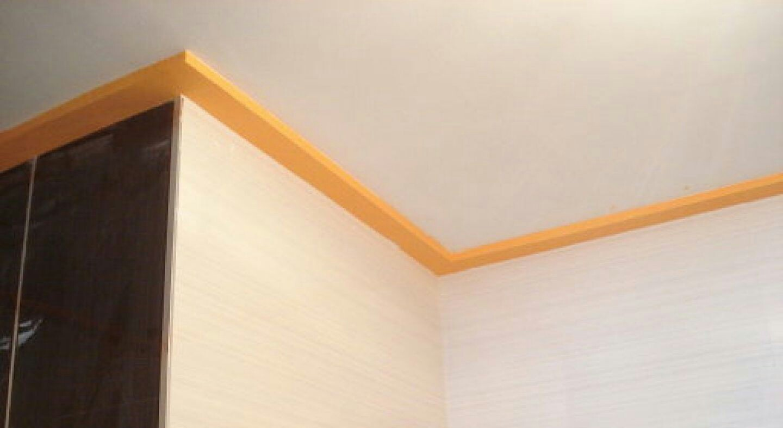 Como pegar molduras de escayola trendy latest falso techo - Hacer falso techo ...